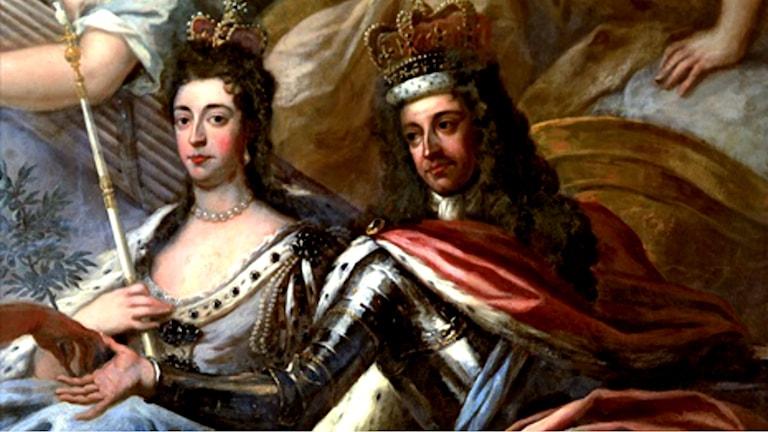 Mary och William. James Thornhill (1675-1734)