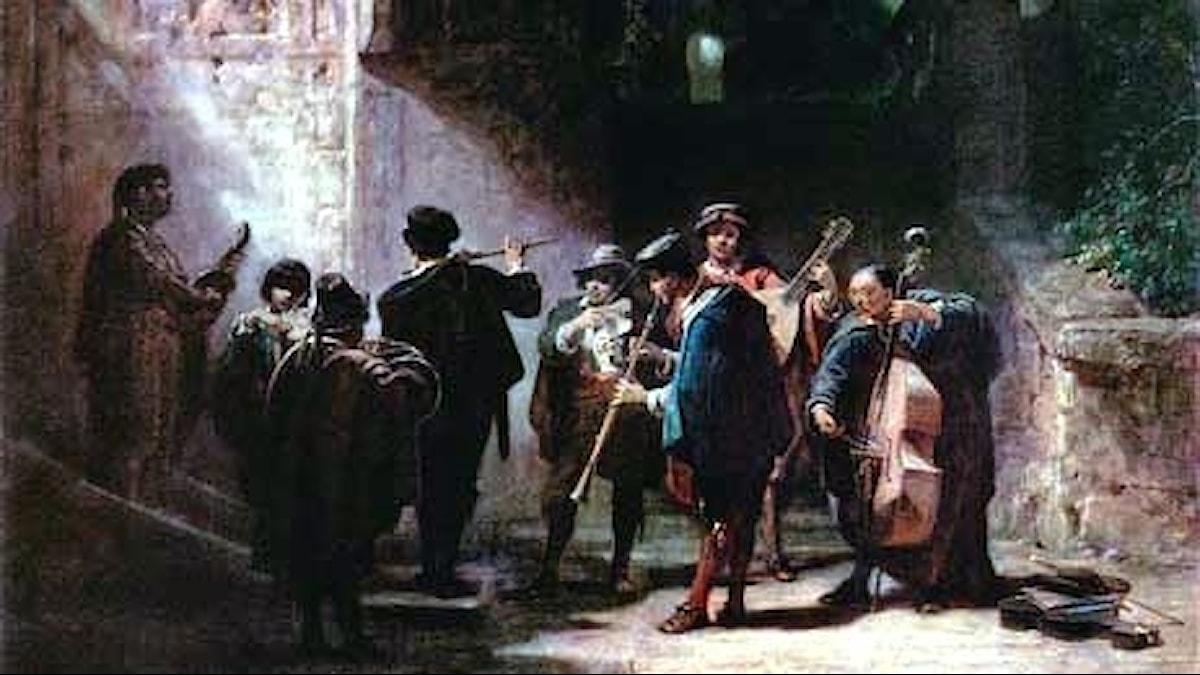 Carl Spitzweg Spansk serenad