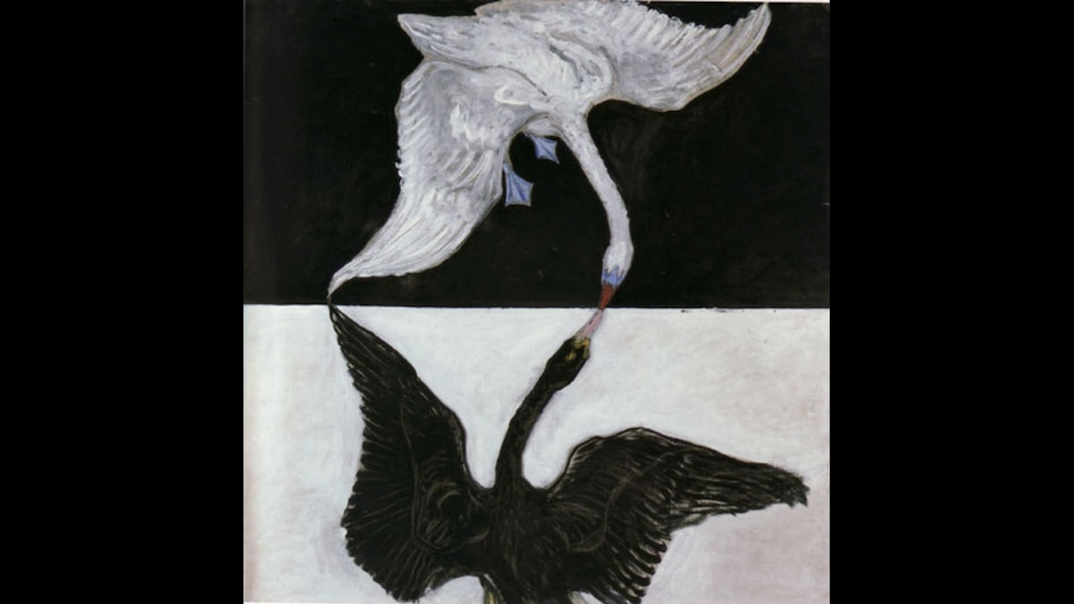 The Swan (No. 17). Hilma af Klint  (1914-1915)