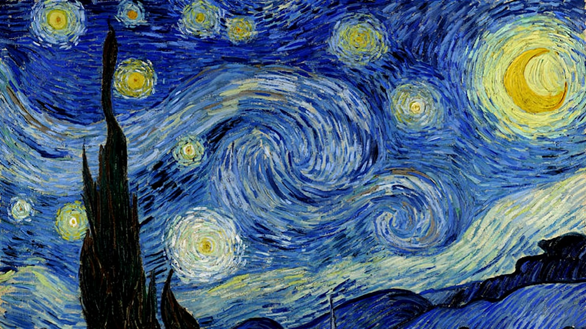 The Starry Night. Vincent van Gogh, 1889