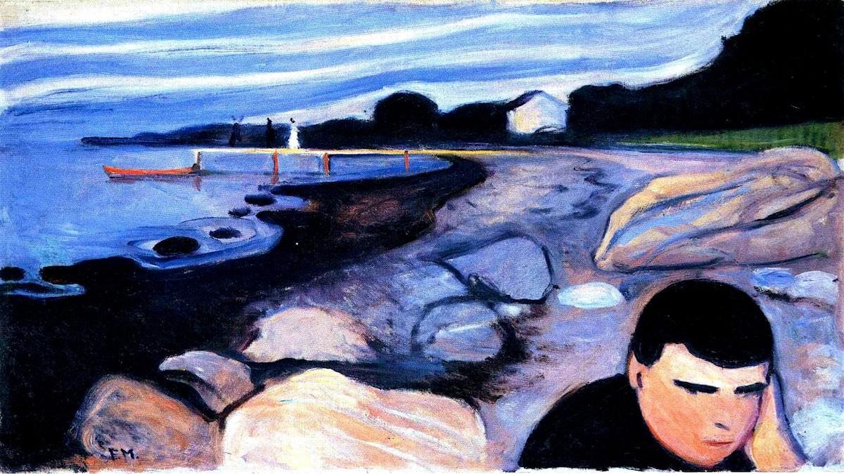 Melankoli. Edvard Munch,1892