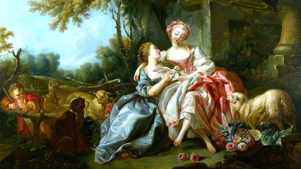 Kärleksbrevet. François Boucher, 1750.
