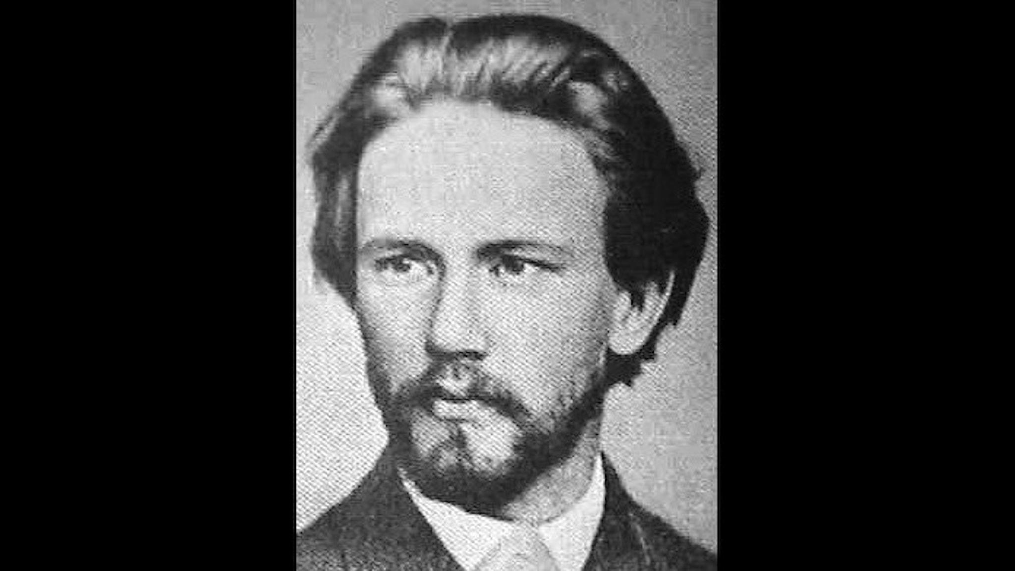 Unge Pjotr Tjajkovskij. 1874