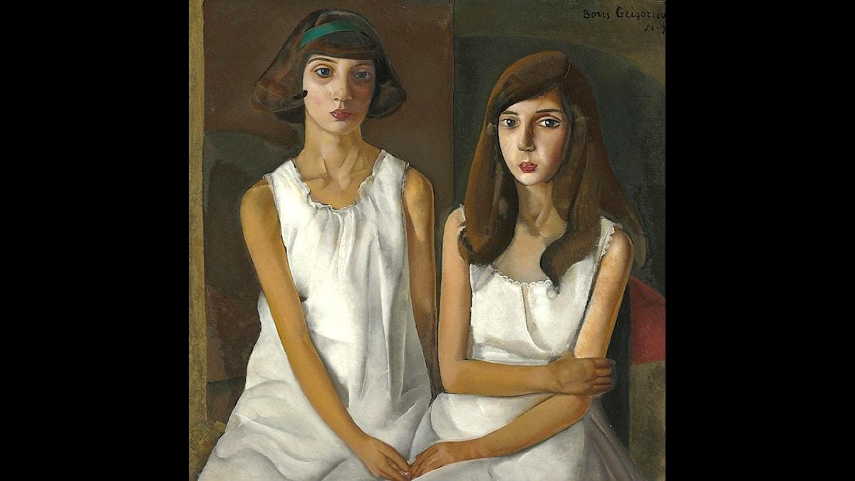 Boris Gregoriev: Tvillingar (ca.1923