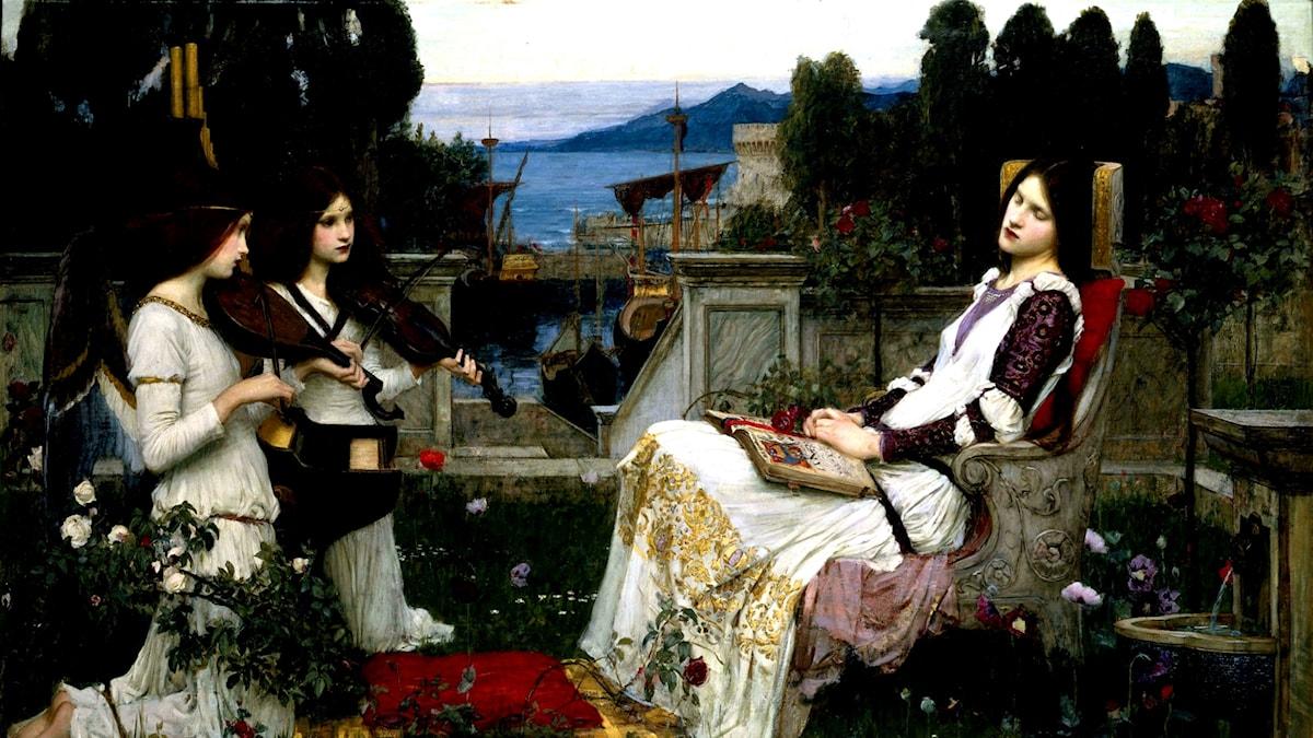 John W. Waterhouse: Sankta Cecilia (1895)