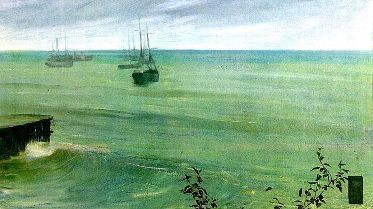 James McNeill Whistler: Symfoni i grått och grönt