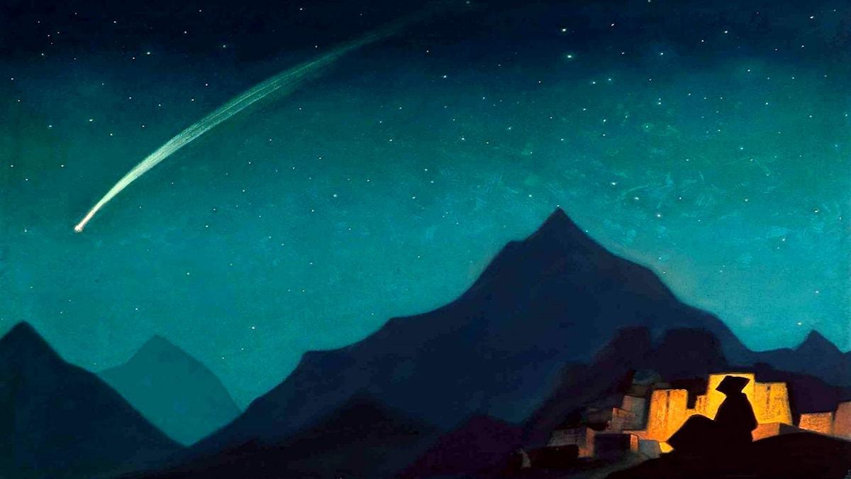 Hjältens stjärna. Nicholas Roerich, 1939