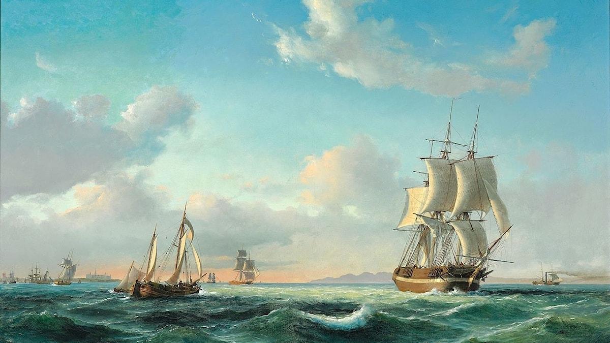"""Anton Melbye: Skeppet """"Johanna"""" (1849)"""