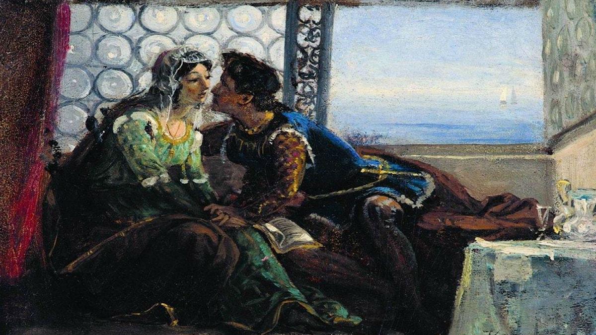 Romeo och Julia. Konstantin Makovsky (1890).