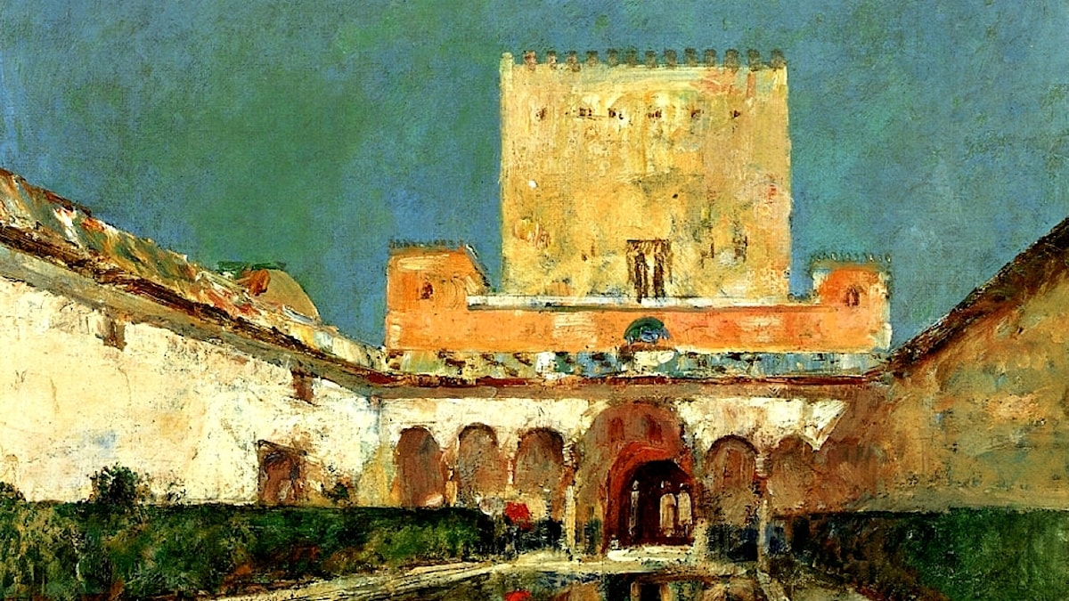 Childe Hassam: Alhambra (1883)
