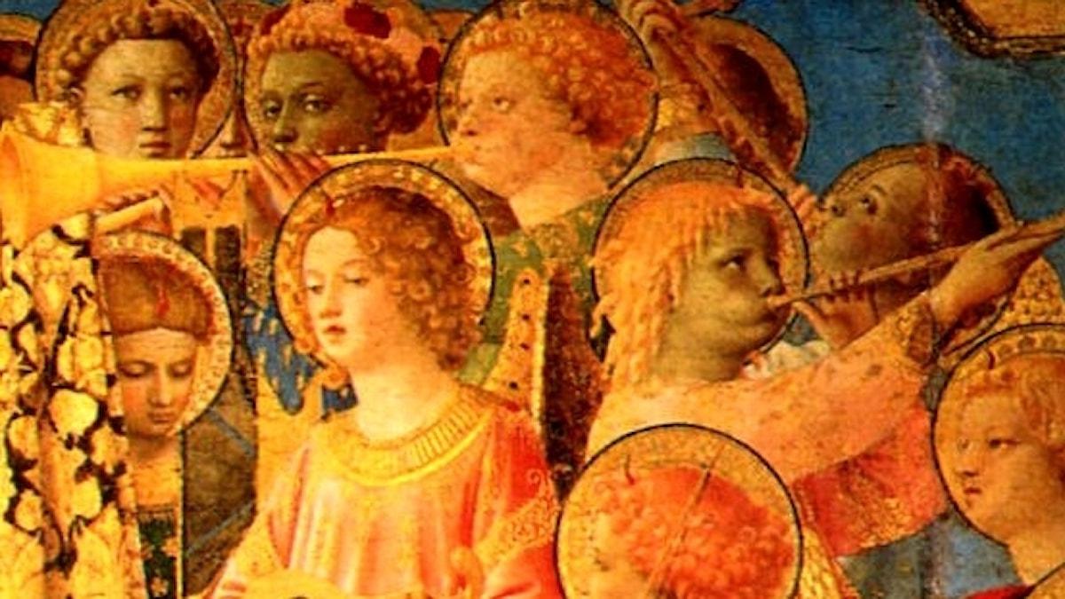 Fra Angelico: Jungfruns kröning (1434)