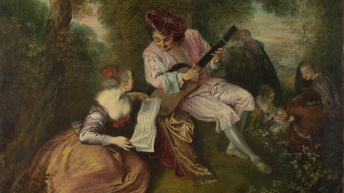 Antoine Watteau: La chanson d'amour
