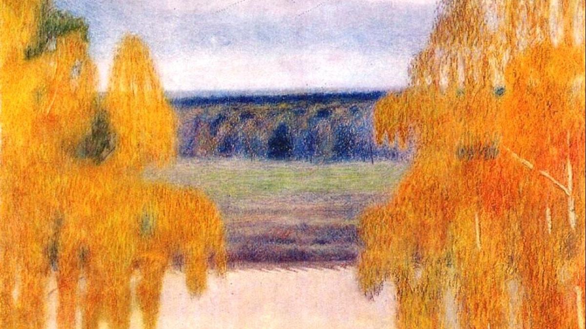 Victor Borisov-Musatovred: Höst sång (1905)