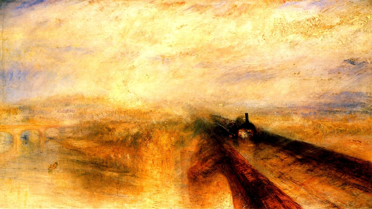 Rain Steam and Speed, The Great Western Railway. William Turner (1775-1851)