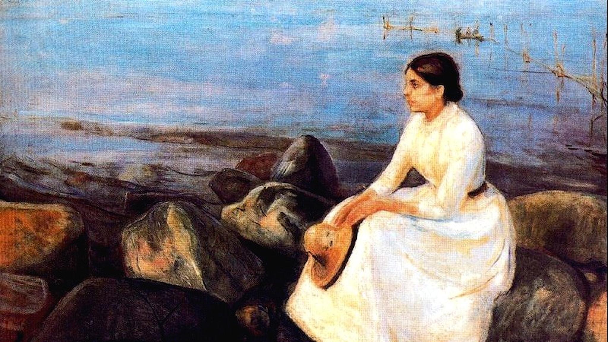 Sommarnatt. Edvard Munch-1889