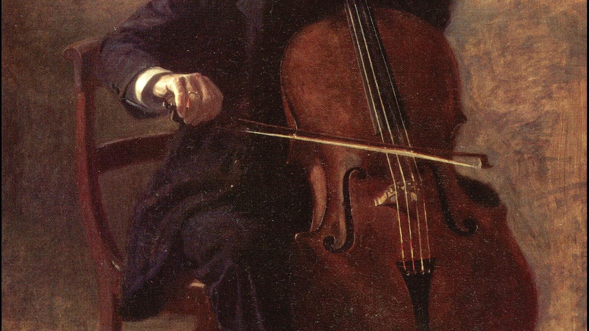 Cellisten (Thomas Eakins, 1896).