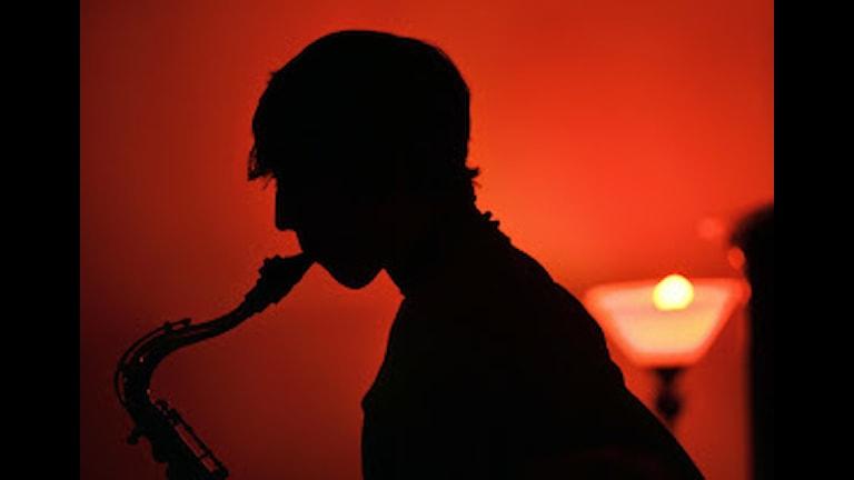Saxofonspelare