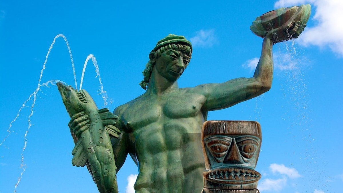 Poseidon & Tiki devil