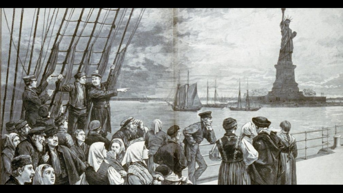Immigranter i New York