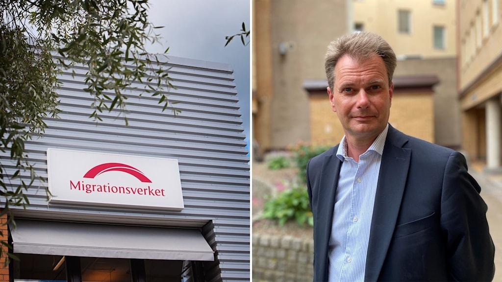 Migrationsverket och lagman vid förvaltningsrätten i Malmö Johan Sjöö.