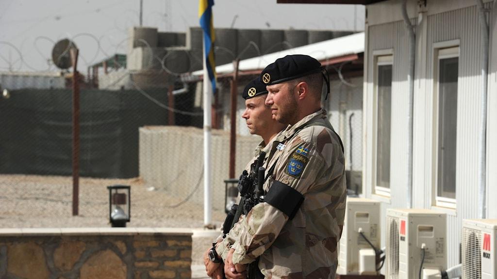 سربازان سویدنی در ایساف