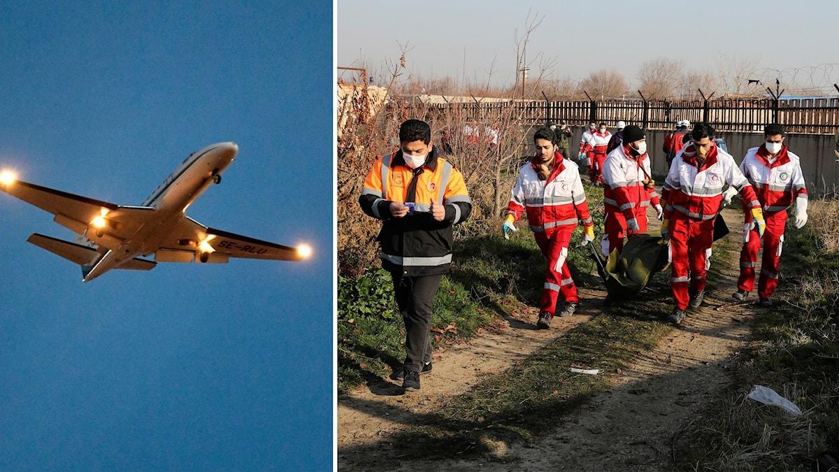 Transportstyrelsen återkallar tillfälligt trafiktillståndet för Irans nationella flygbolag.