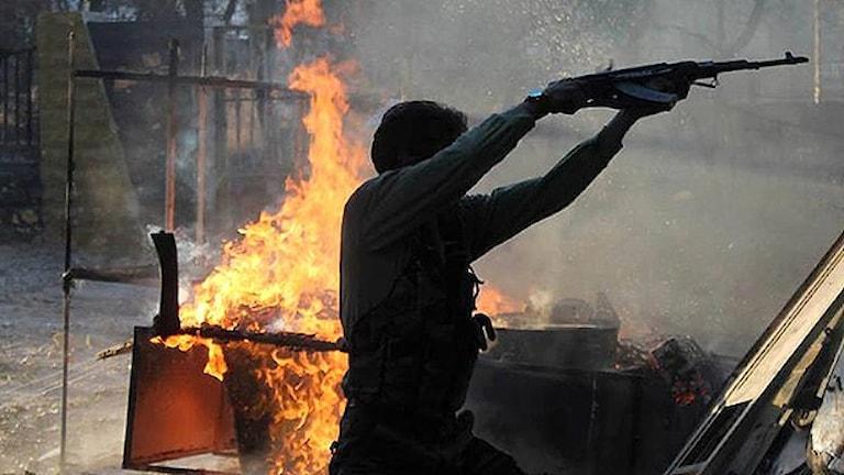 جنگ داخلی در سوریه  Foto: TT