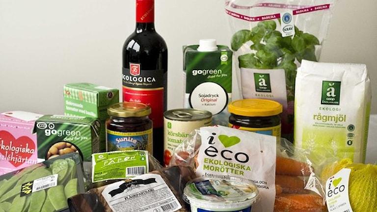 مواد غذایی اکولوژیک Foto: Claudio Bresciani/TT