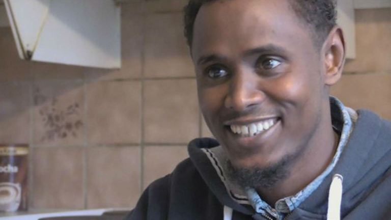 محمد پناهجوی سومالیایی Foto: SVT