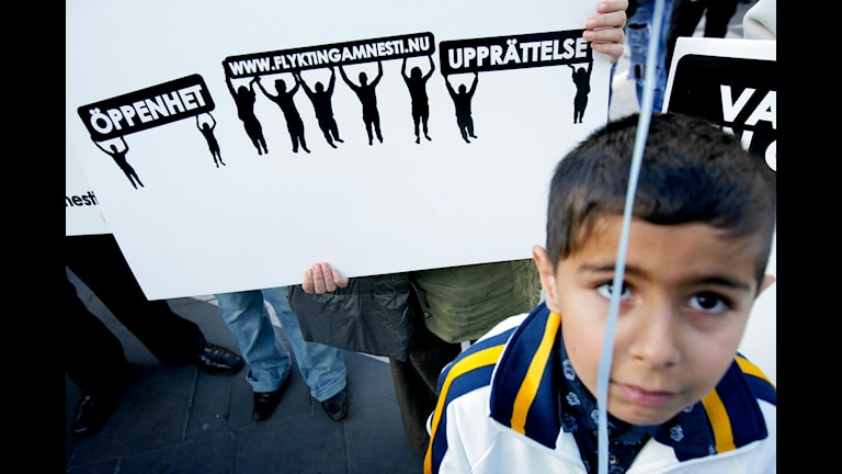 کودکان پناهجوی تنها   Foto: Fredrik Persson/ TT