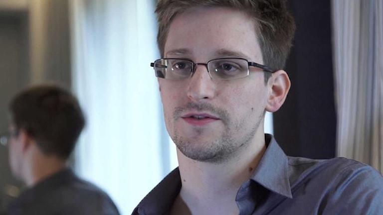 ادوارد اسنودن، افشاگر آمریکایی   Foto: AP/TT