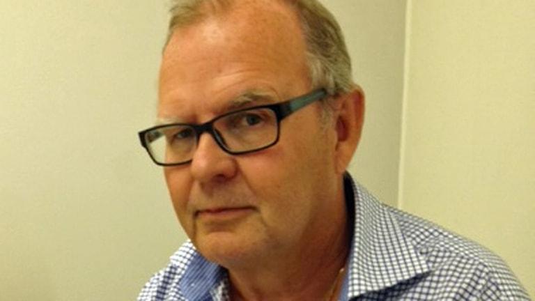 Arbetsförmedlingens prognoschef Tord Strannefors. Foto: Johan Prane/Sveriges Radio