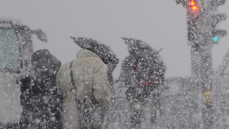 در روزهای تعطیل، هوای بیشتر مناطق بارانی، برفی و توفانی خواهدبود  Foto: Britta Pedersen/AP.