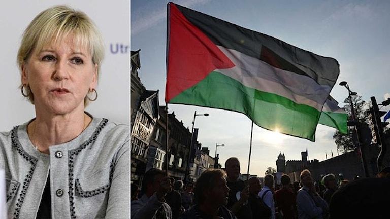 سفر وزیرامورخارجه سوئد به اسراییل به دلیل سردی روابط دو کشور پس از شناسایی دولت فلسطین توسط سوئد لغو شد
