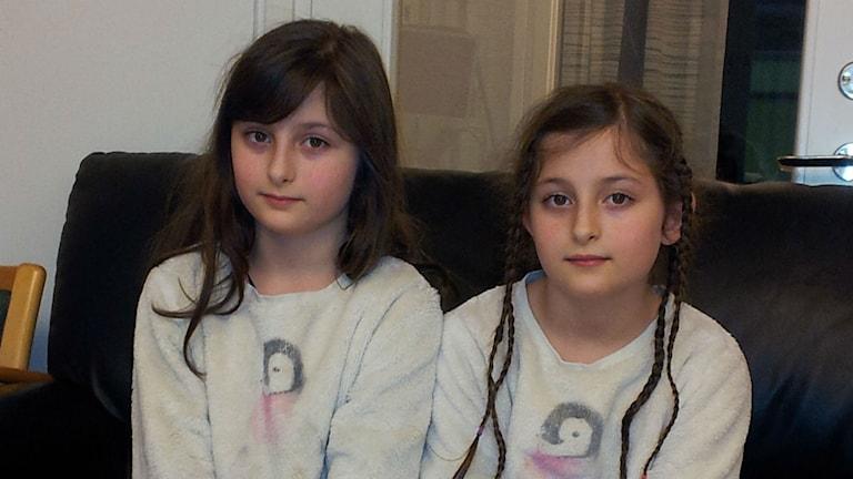 Sara & Nika Forghani-Asl. Foto: Samaneh Kazemi. Sveriges Radio. نیکا و سارا فرقانی اصل
