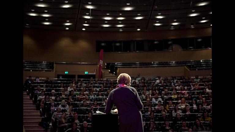 کنگره حزب ابتکار فمینیستی در اوره برو  Foto: Pavel Koubek / TT