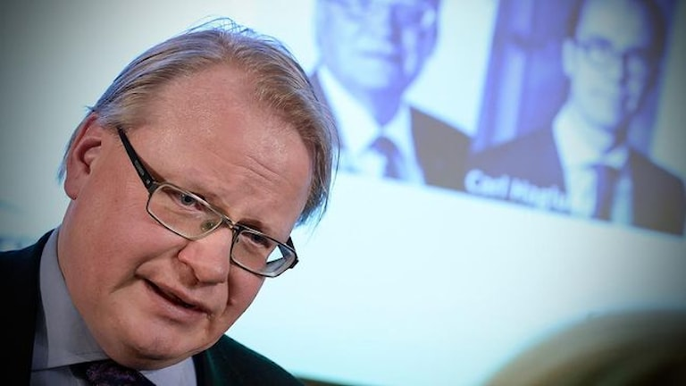 وزیر دفاع سوئد، پیتر هولت کویست Foto: TT