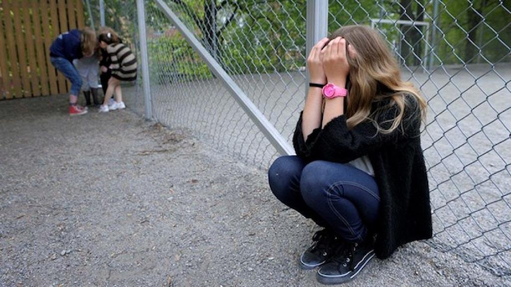 خشونت در مدارس سوئد به شدتد افزایش یافته است  Foto: Janerik Henriksson/TT