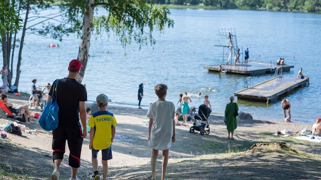 در تابستان سال جاری انتظار میرود که شمار بیشتر از افراد در مقایسه با سال گذشته در کورسهای یادگیری شنا در محلات سر باز شرکت کنند.