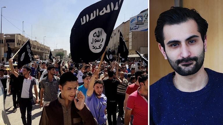 حنیف بالی نماینده پارلمان در باره جنگجویان گروه خلافت اسلامی، داعش Foto:TT/Sveiges radio