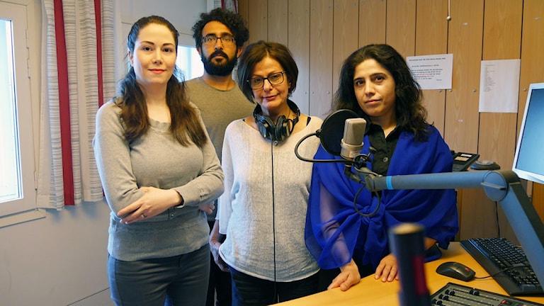 medarbetarna Radio Sweden Persiska