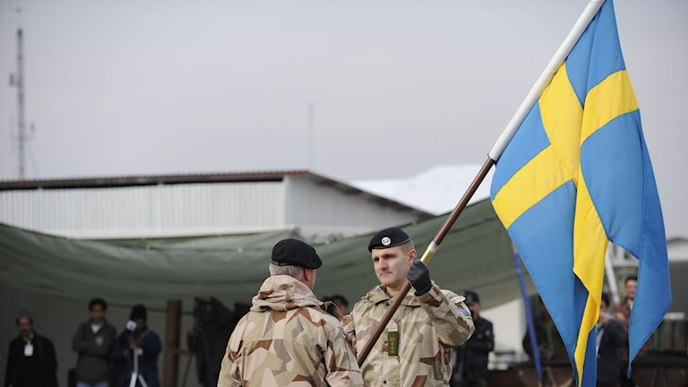 Fotograf Henrik Klingberg/Försvarsmakten. TT