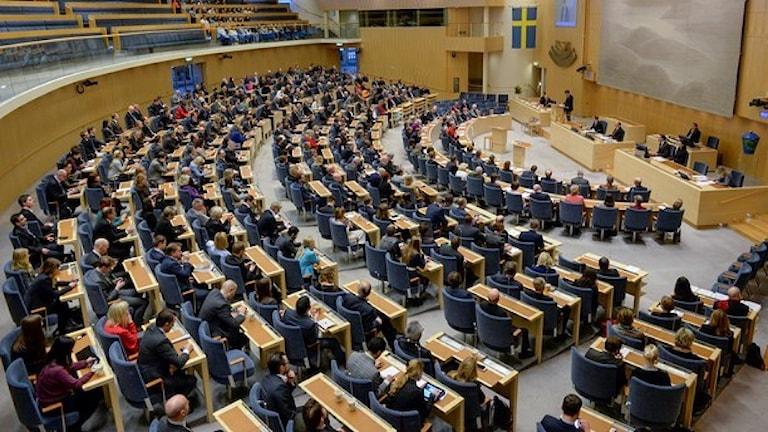 پارلمان سوئد پس از تعطیلات تابستان از امروز فعالیت مجدد خود را آغازمی کند Foto: Jessica Gow/TT