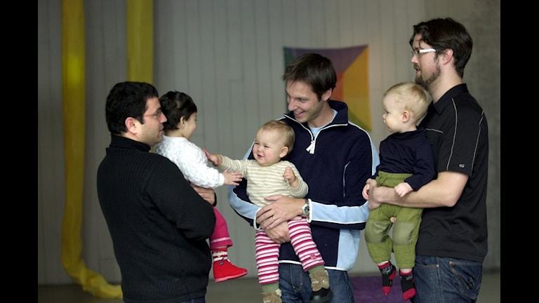 پدر و مادرهایی که استفاده از مدت مرخصی والدین را میان خود تقسیم می کردند، دیگر پاداش دریافت نخواهندکرد Foto: Claus Gertsen/TT