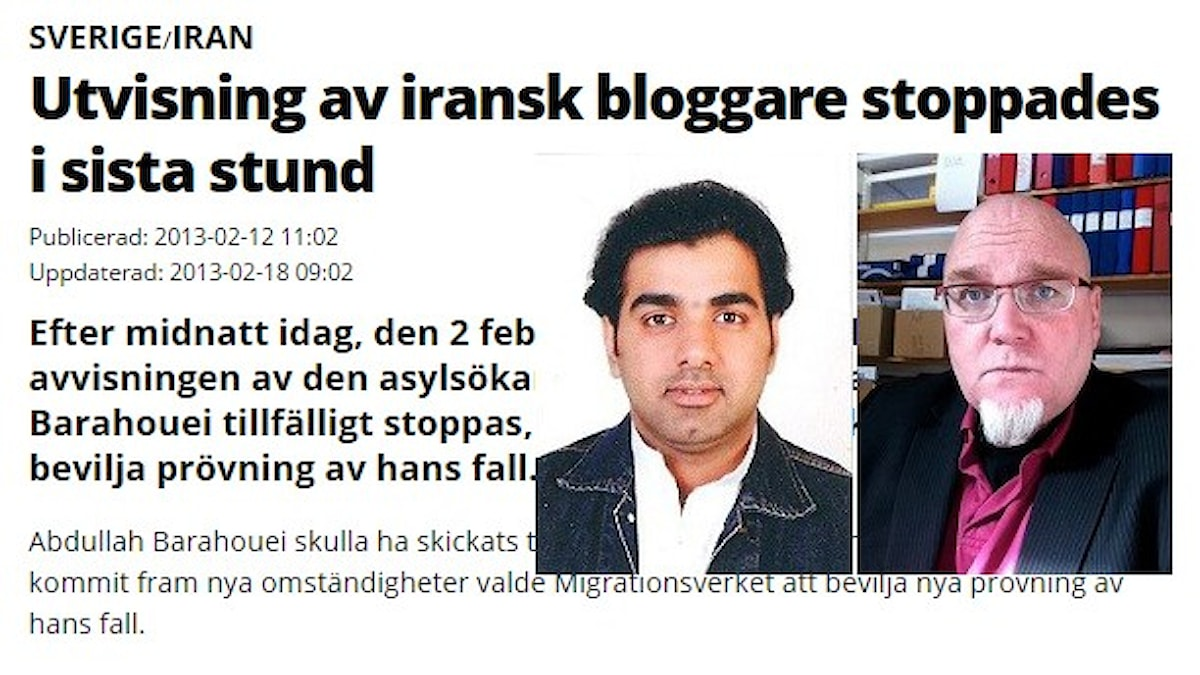 urban Löfqvist (RUG) och Abdulla Abdullah Barahouei