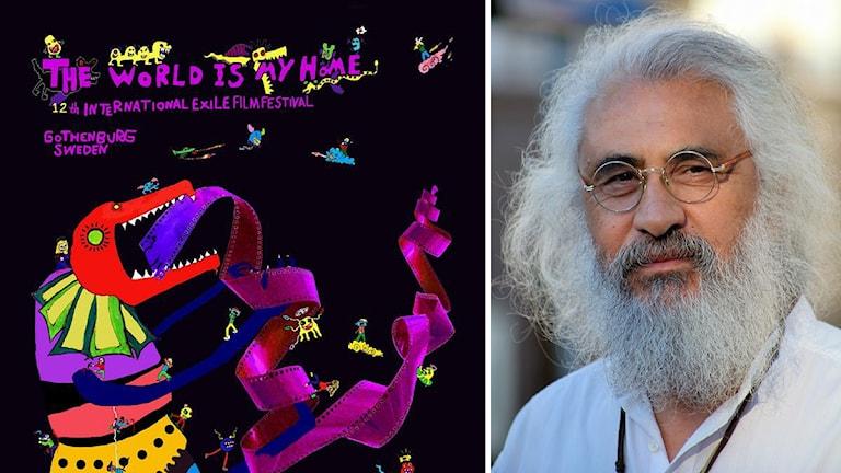 حسین مهینی مدیر جشنوارە بین المللی سینمای تبعید در یوتەبوری