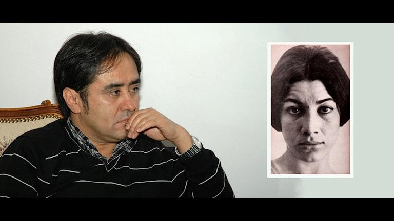 محمد شریف سعیدی شاعر، نویسنده و از دست اندرکاران کنگرەی بینالمللی فروغ فرخزاد