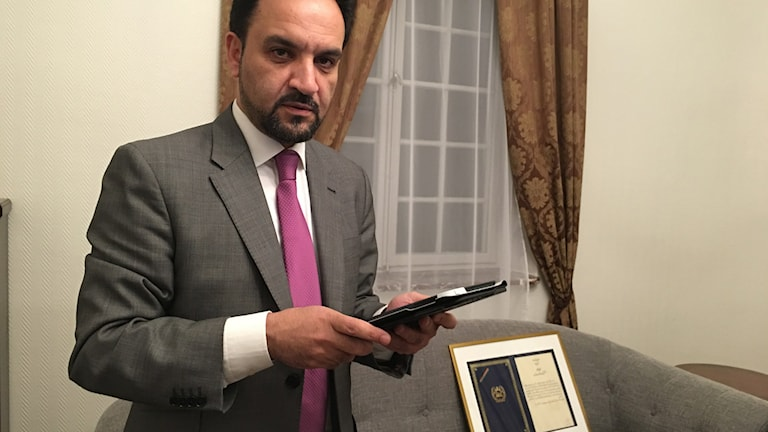 Afghanistan ambassadör i Sverige