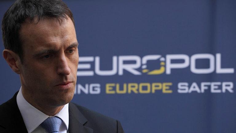 راب وین رایت، رئیس پلیس اتحادیه اروپا، یوروپل/Fotograf Peter Dejong. TT. AP