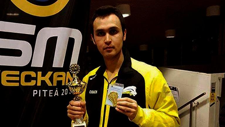 علی خاوری، قهرمان ملی سویدن در تکواندو Foto: privat